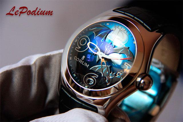 Часы Corum из лимитированной серии Bubble Bats Limited Edition 2005