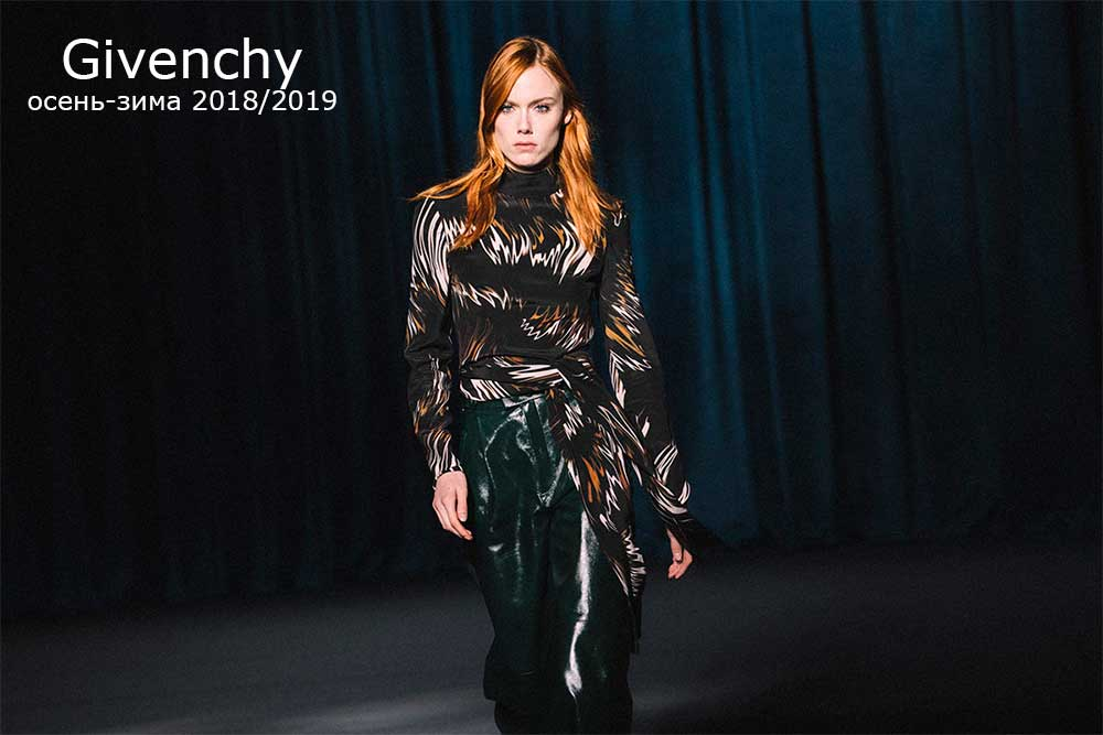 Saint Laurent осень-зима 2018/2019